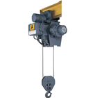 日立産機システム ローヘッド形 電動トロリ付きホイスト Aシリーズ 1AL-T55