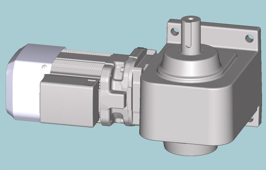 三菱ギヤードモータ GM-SHY/SHYPシリーズ 直交軸 三相200V 屋内仕様 GM-SHYB-RL 0.1kW 1/5